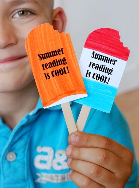 gelado de boas férias e boas leituras
