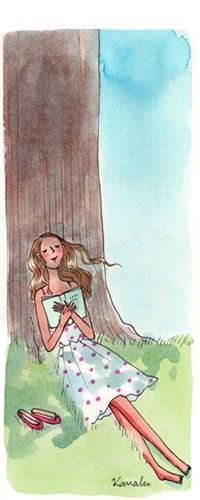 lire sous le vieil fille