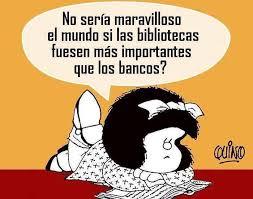 Pensamiento de Mafalda - Bibliotecas únicas | Facebook